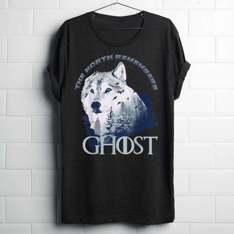 Premium The North Remember Ghost Wolf In The Forest Shirt 1 1.jpg