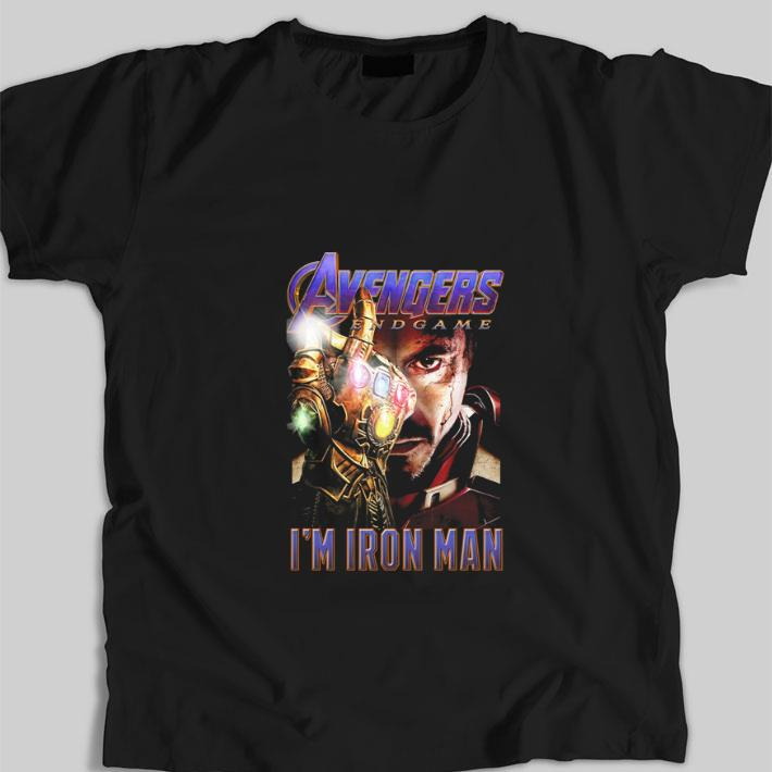 Pretty Avengers Endgame The Snap I M Iron Man Tony Stark Shirt 1 1.jpg