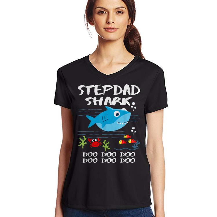 Stepdad Shark Fathers Day Idea For Father Husband Shirt 3 1.jpg