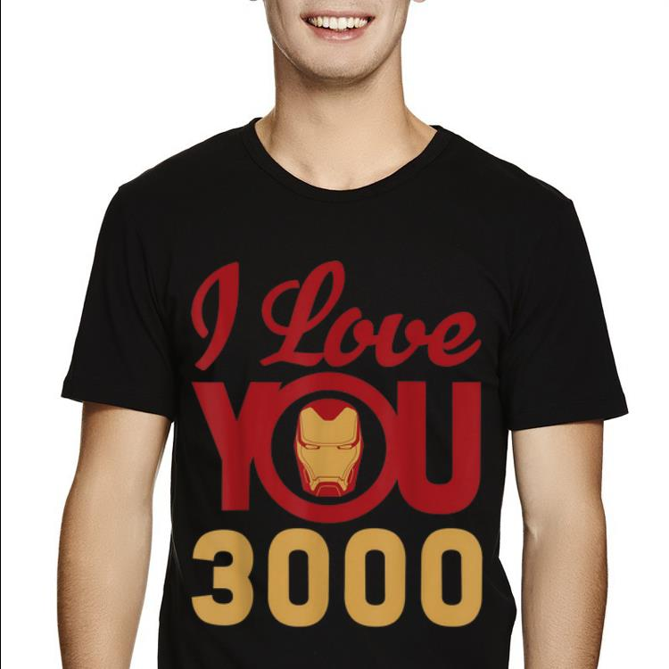 Top Marvel Avengers Endgame Iron Man I Love You 3000 Father Day Shirt 2 1.jpg