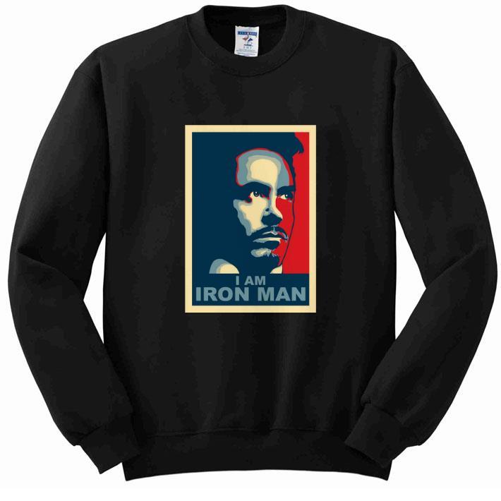 Top Tony Stark I am Iron Man vintage shirt