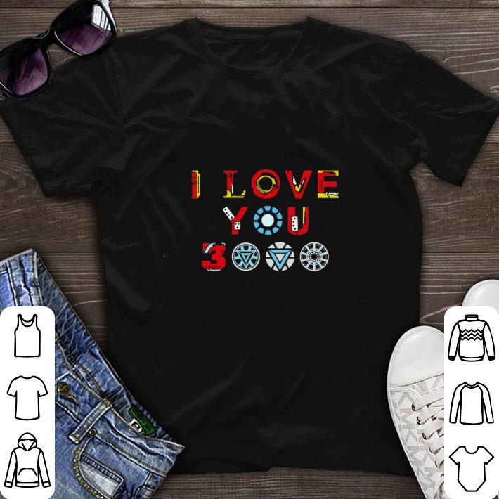 Top Tony Stark Iron Man I Love You 3000 Daughter Shirt 1 1.jpg