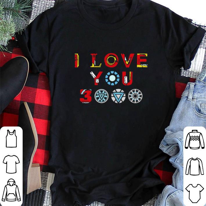 Top Tony Stark Iron Man I Love You 3000 Daughter Shirt 2 1.jpg