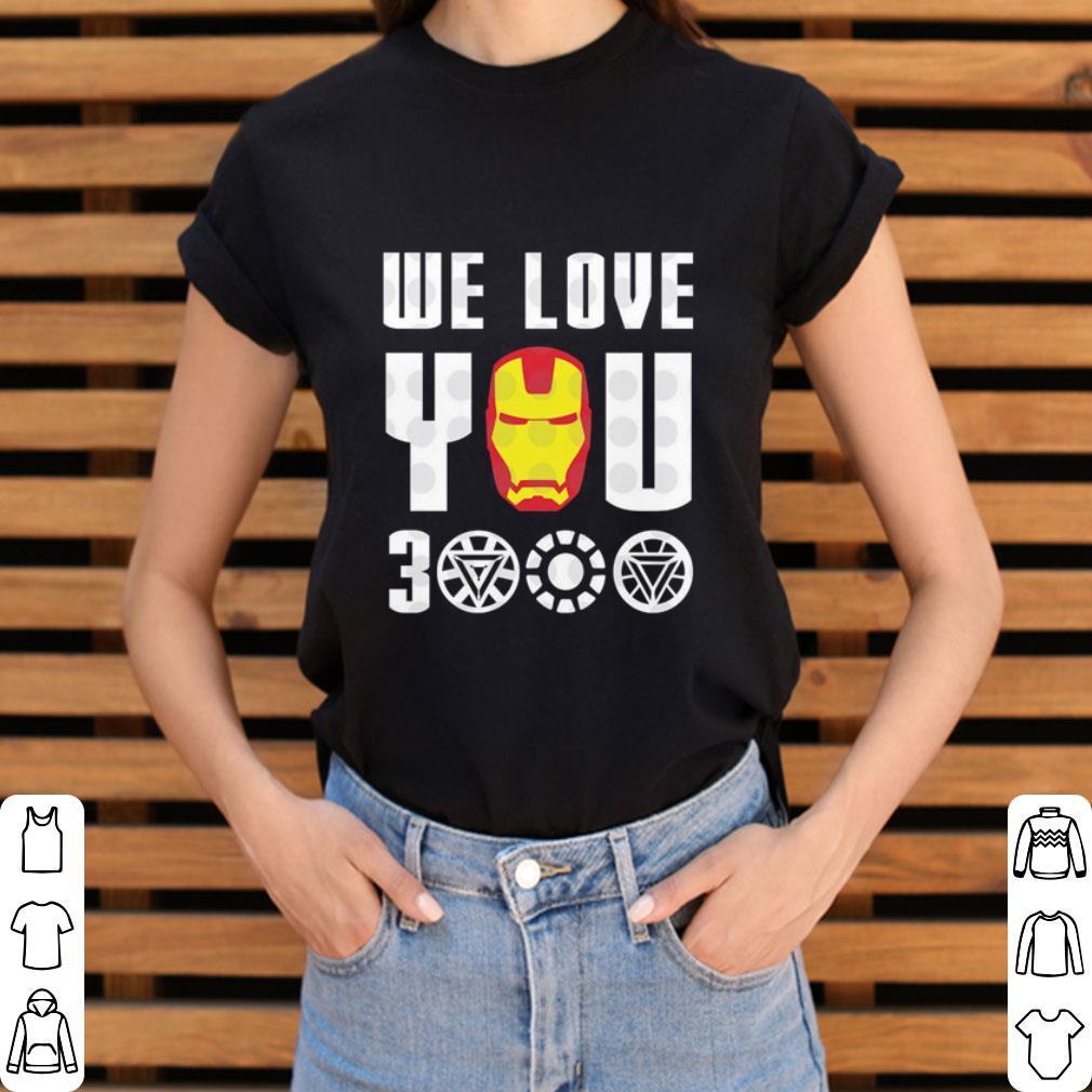 We Love You 3000 Iron Man Marvel Avengers Endgame Shirt 3 1.jpg