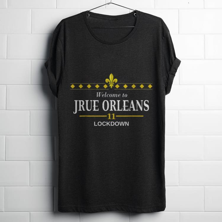 Welcome to Jrue Orleans 11 lockdown shirt