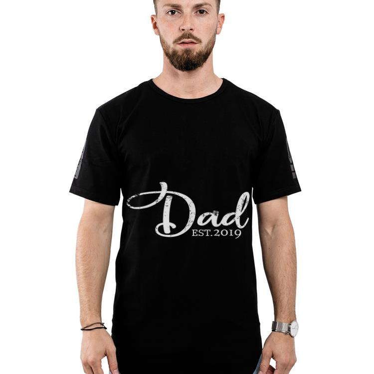 Wonderful Dad Est 2019 First Time Fathers Day Shirt 2 1.jpg