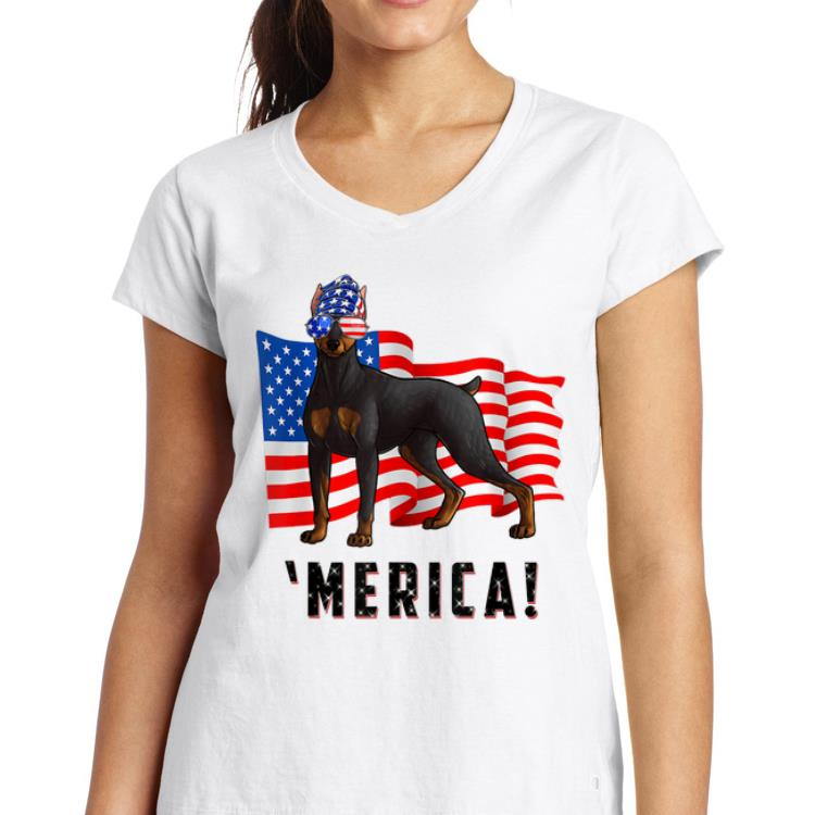 4th Of July Doberman Pinscher Dog Merica Tee Shirt 3 1.jpg
