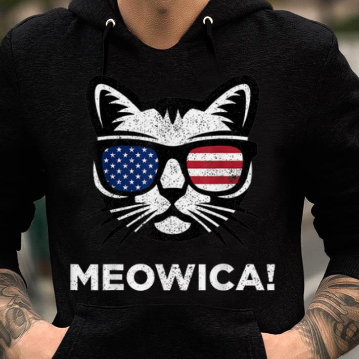 4th Of July Meowica Cat American Flag Glasses Shirt 2 1.jpg