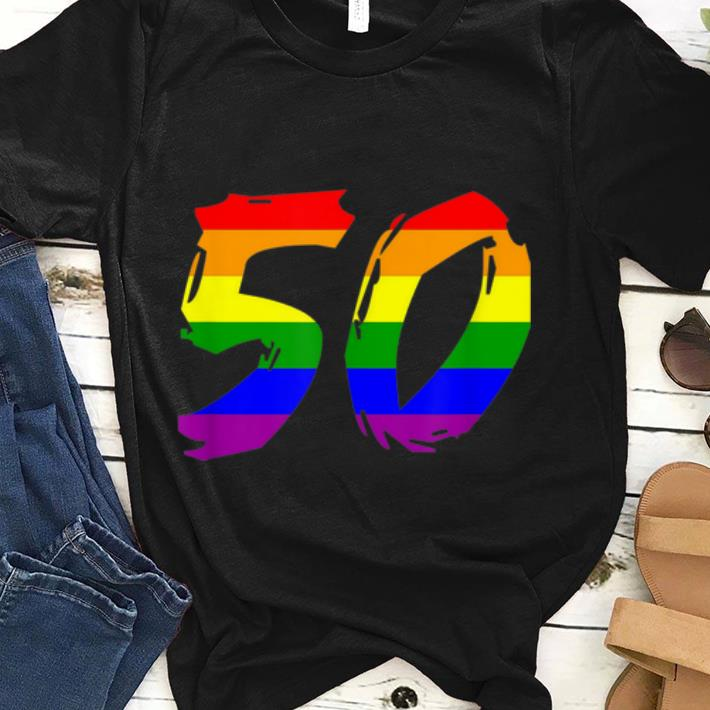 50 Anniversary NYC Gay Riot LGBT 2019 shirt
