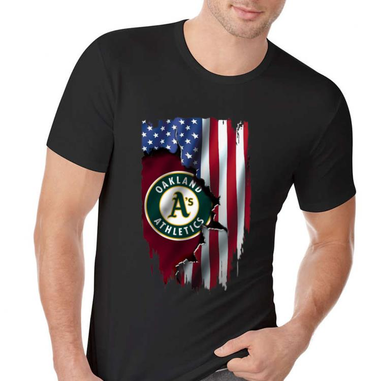 American Flag Oakland Athletics Mashup Mlb 2 1.jpg