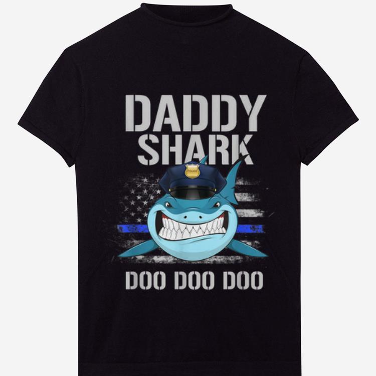 American Flag Police Daddy Shark Doo Doo Doo Shirt 1 1.jpg