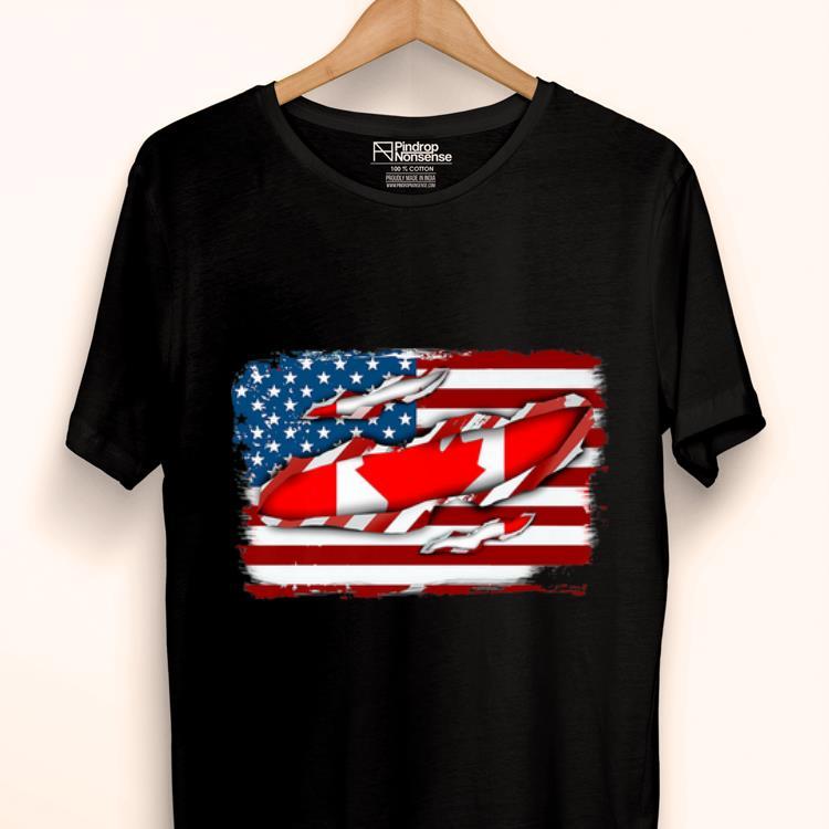 Awesome Canadian Blood Inside Me Canada Flag Pride Shirt 1 1.jpg