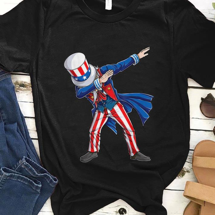 Best price Dabbing Uncle Sam 4th of July Independence Day American Suit shirt