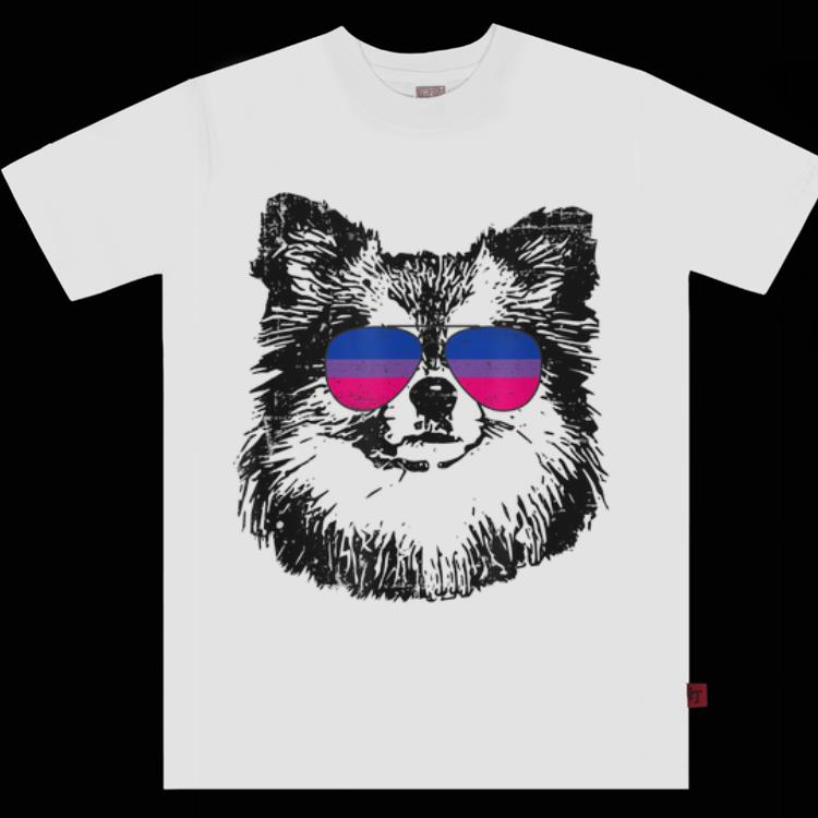 Bisexual Pride Pom Dog Lgbt Sunglasses Men Women Shirt 1 1.jpg
