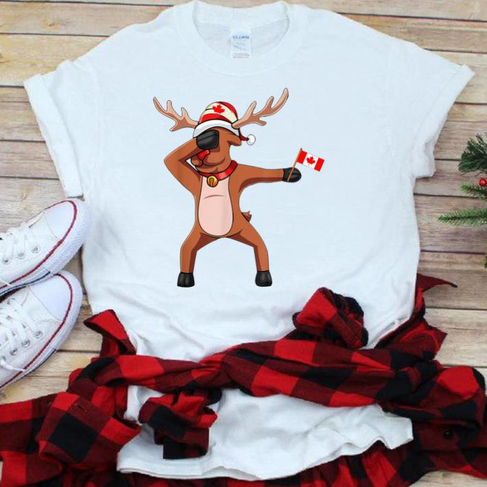 Canadian Dabbing Moose Canada Day sjirt