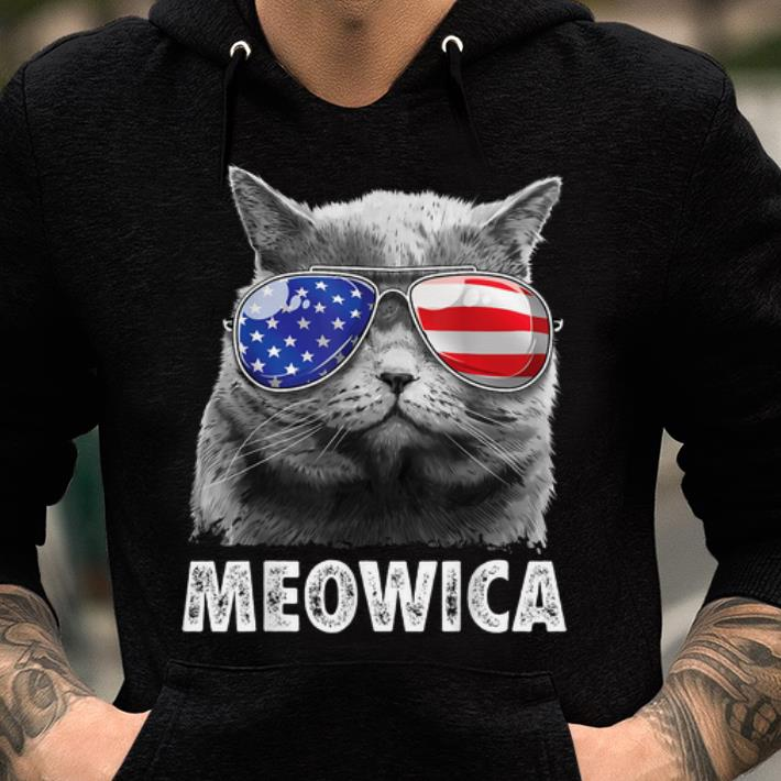 Cat 4th Of Julys Meowica Merica Usa American Flag Shirt 2 1.jpg