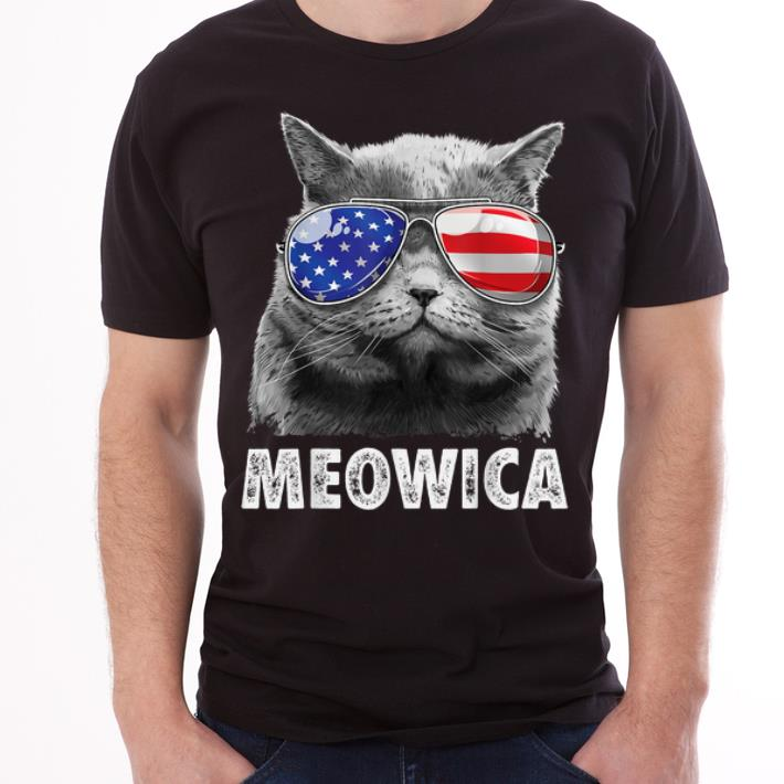 Cat 4th Of Julys Meowica Merica Usa American Flag Shirt 3 1.jpg