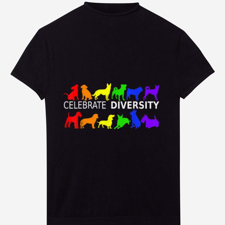 Celebrate Diversity Dog Lgbt Gay Pride Rainbow Gift Shirt 1 1.jpg