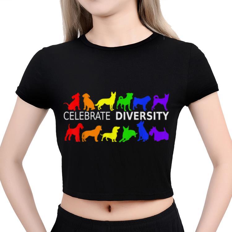 Celebrate Diversity Dog Lgbt Gay Pride Rainbow Gift Shirt 3 1.jpg