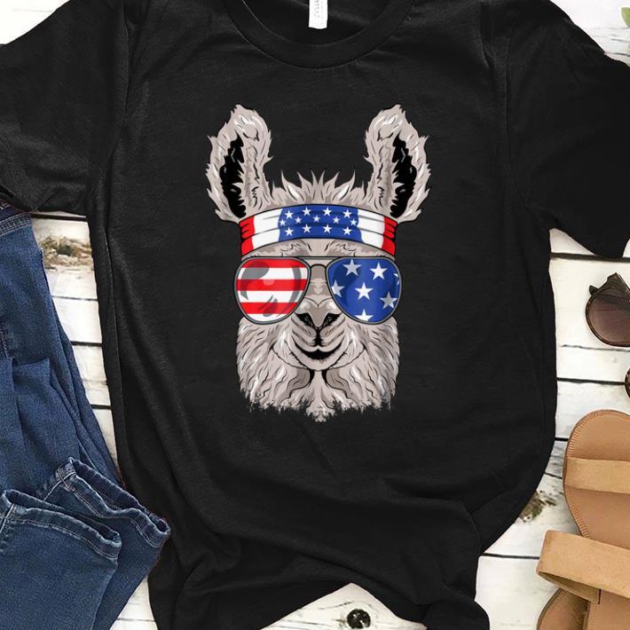 Hot American Flag Usa Patriotic Llama July 4th Alpaca Shirt 1 1.jpg