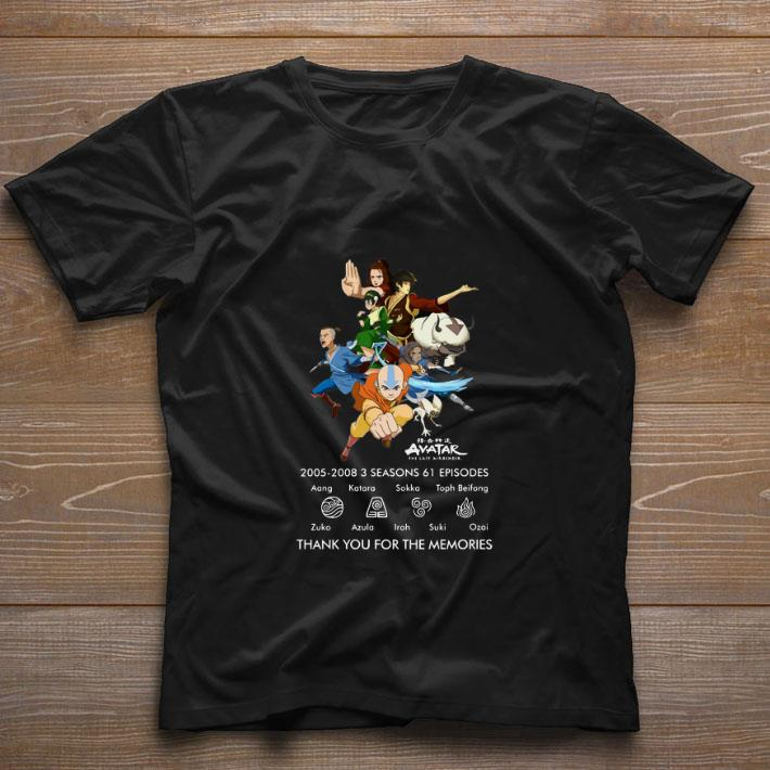 Hot Avatar The Last Airbender 2005 2008 Thank You For The Memories Shirt 1 1.jpg