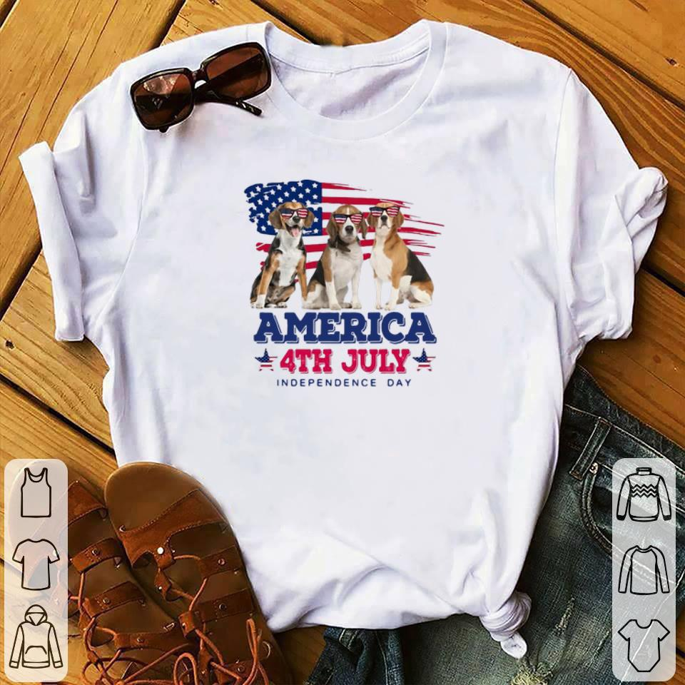 Hot Beagles American Flag 4th July Independence Day Shirt 1 1.jpg