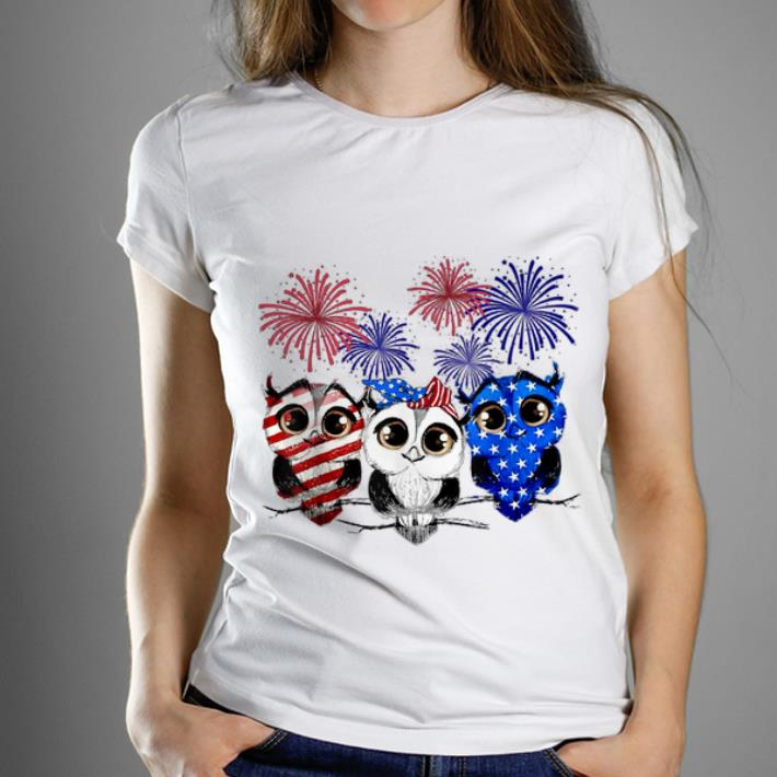Official Owl Flag Colors Owl Smile Owl American Flag Happy Shirt 1 1.jpg