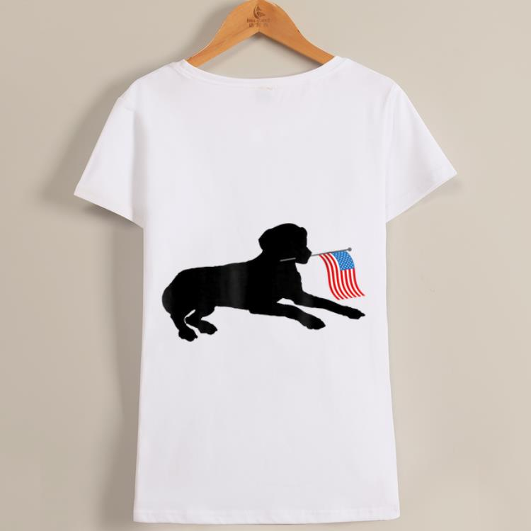 Original Black Lab Dog Holding July 4th Patriotic Usa Flag Shirt 1 1.jpg