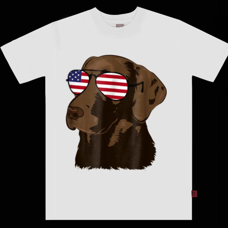 Original Chocolate Lab American Flag Dog 4th Of July Shirt 1 1.jpg