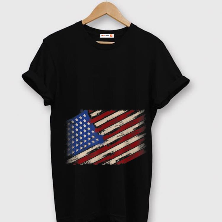 Original Distressed American Flag 4th Of July Independence Day shirt