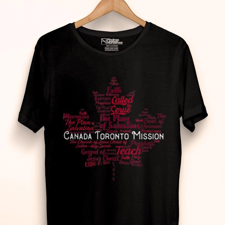 Original Lds Canada Toronto Mission shirt
