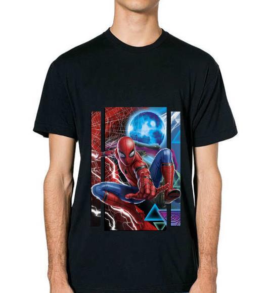 Original Marvel Spider Man Far From Home Mysterio And Spidey Portrait Shirt 2 1.jpg