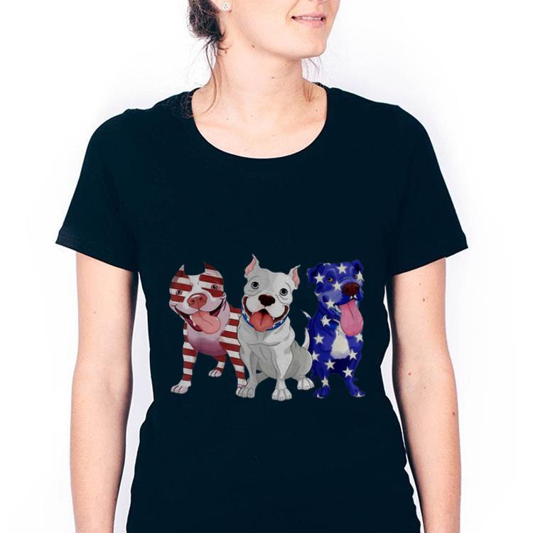 Original Pitbull Red White Blue Stars American Flag 4th Of July Shirt 3 1.jpg