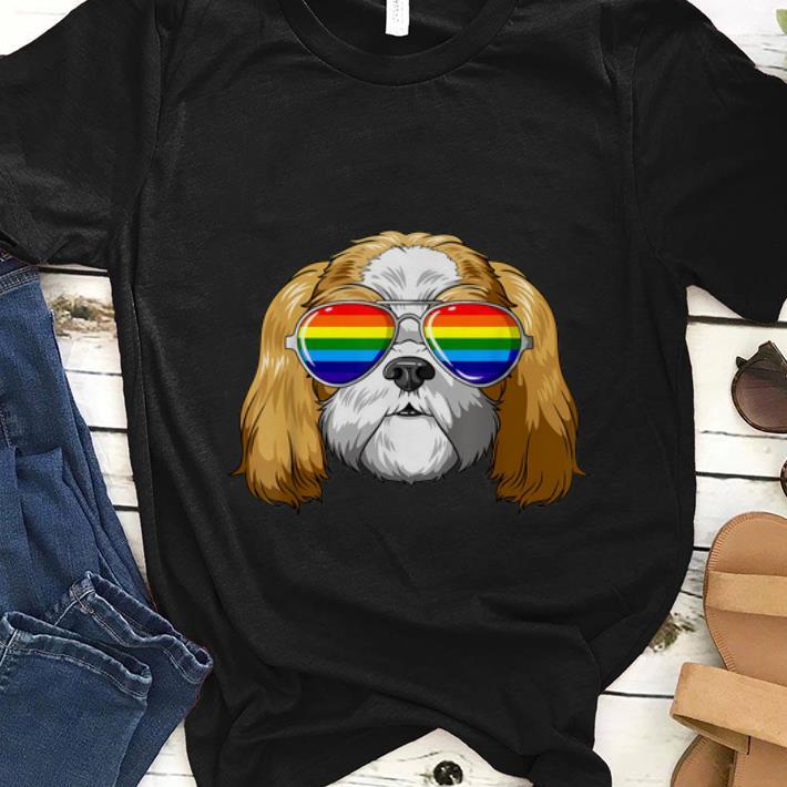 Original Shih Tzu Gay Pride Flag Lgbt Rainbow Sunglasses Shih Tzu Shirt 1 1.jpg