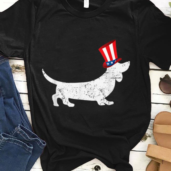 Patriotic American Dachshund 4th Of July Uncle Sam Shirt 1 1.jpg