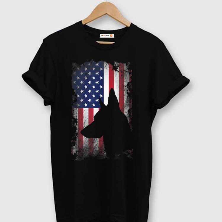Pretty German Shepherd American Flag Usa Patriotic Dog Gift Shirt 1 1.jpg