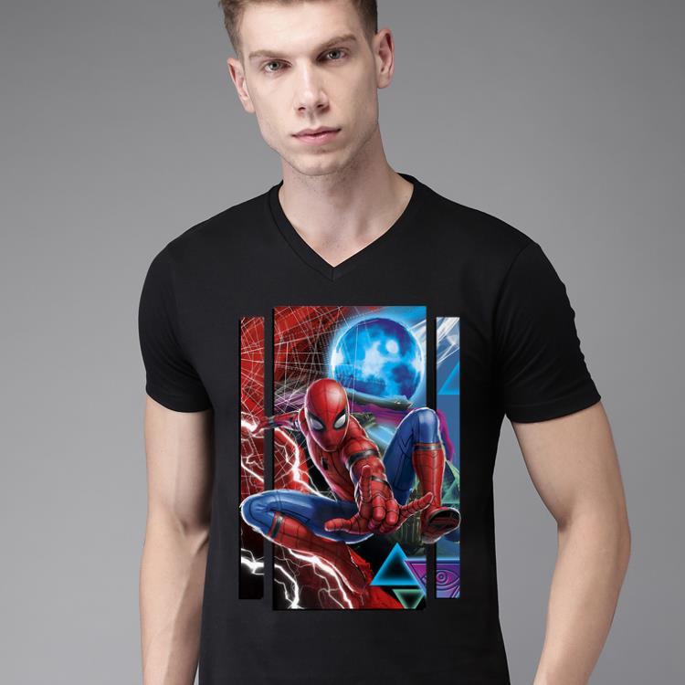 Pretty Marvel Spider Man Far From Home Mysterio And Spidey Portrait Premium Shirt 2 1.jpg
