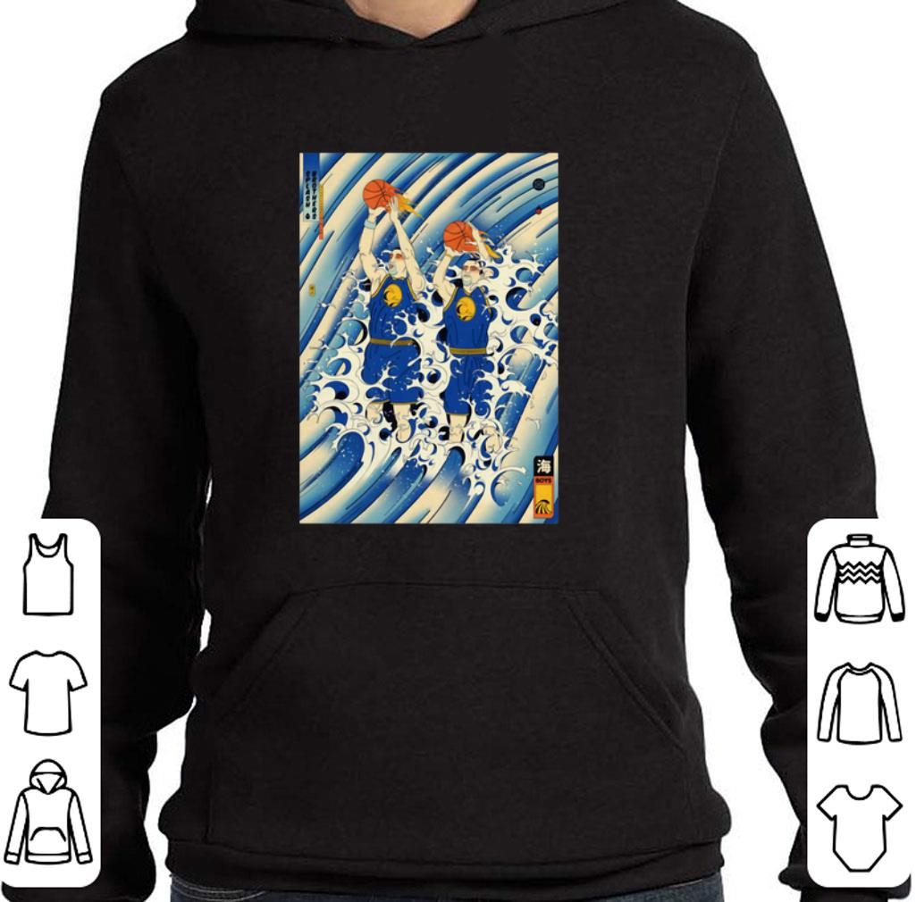Pretty Steph Curry and Klay Thompson Splash Brothers shirt