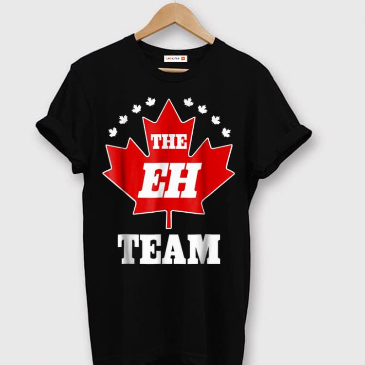Pretty The Eh Team Canadian Pride Canuck Maple Leaf Tee Shirt 1 1.jpg