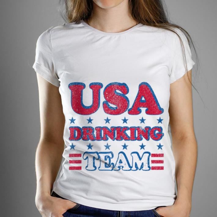 Top USA Drinking Team 4th of July Independence Day shirt