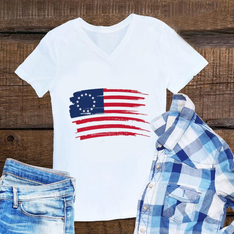 Awesome 4th Of July Independence Day Betsy Ross Flag shirt