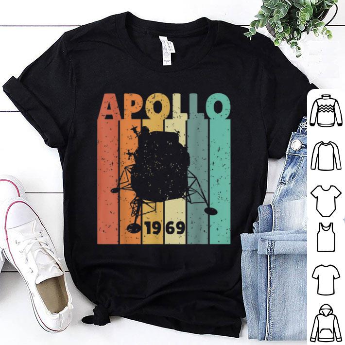 Awesome 50th Anniversary Apollo 11 Lunar Landing 1969 Retro 90s Shirt 1 1.jpg