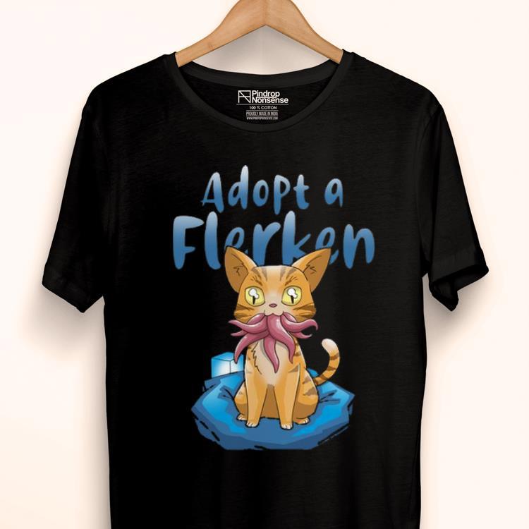 Awesome Adopt A Flerken Cat Eating Octopus Shirt 1 1.jpg
