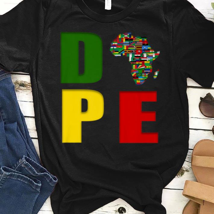 Awesome African Flag Map Africa Is So Cool Pape Shirt 1 1.jpg