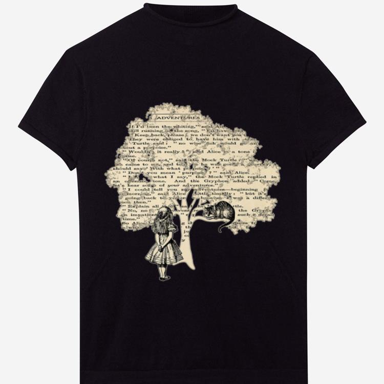 Awesome Alice In Wonderland Vintage Book Tree Knowledge Tree Shirt 1 1.jpg