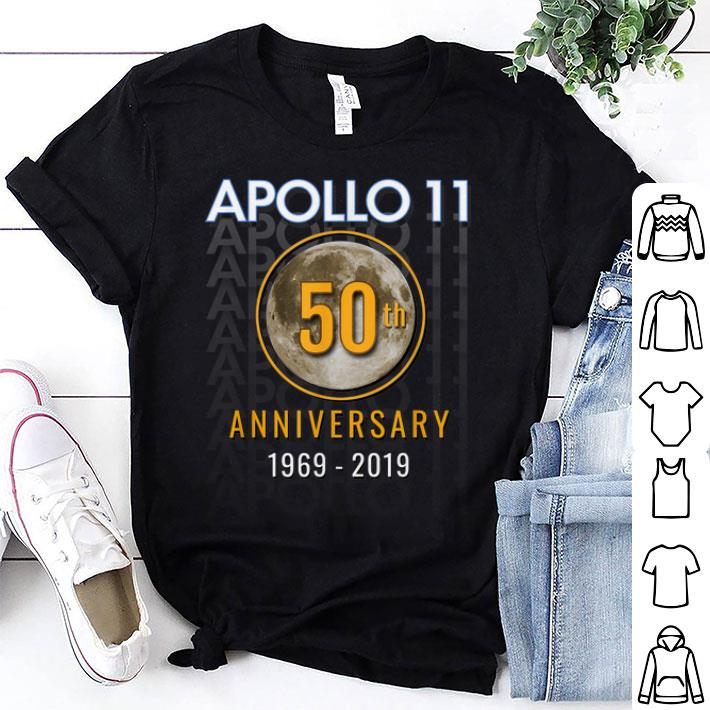Awesome Apollo 11 50th 1969 Golden Anniversary Moon Shirt 1 1.jpg