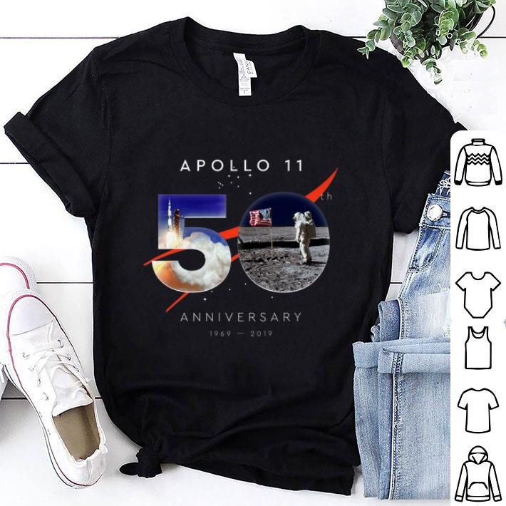Awesome Apollo 11 50th Anniversary First Step On The Moon Moon Landing July 20 1969 Giant Leap Shirt 1 1.jpg