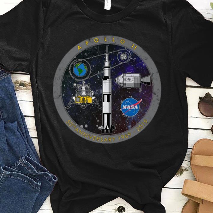 Awesome Apollo 11 50th Anniversary Moon Landing July 1969 2019 Premium Shirt 1 1.jpg