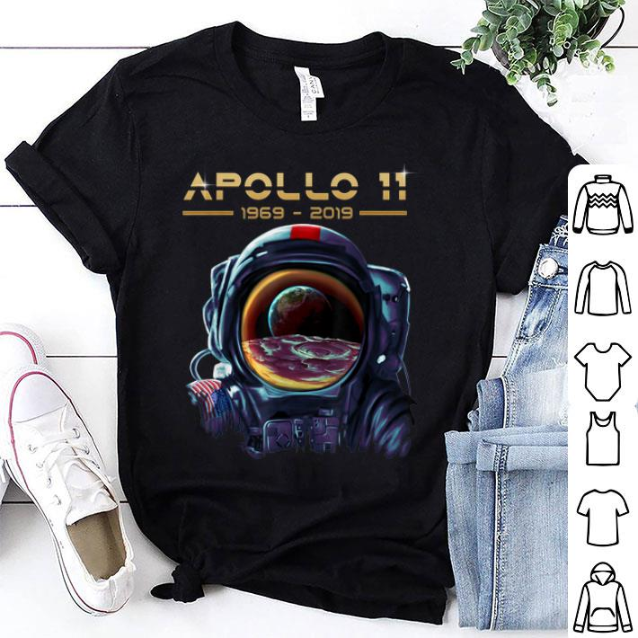 Awesome Apollo 11 Astronaut With Earth Reflection Moon Landing 1969 Shirt 1 1 1.jpg