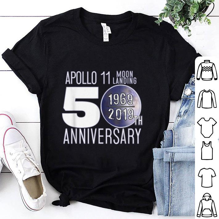 Awesome Apollo Moon Landing 50th Anniversary Recognition 1969 2019 Shirt 1 1.jpg